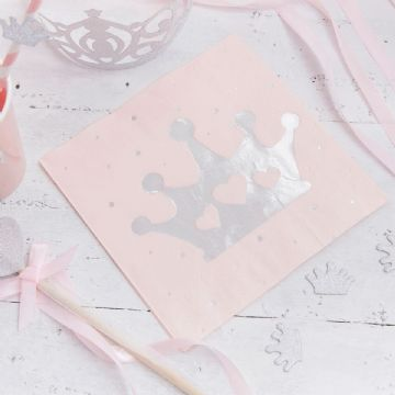 Princess Perfection Party Napkins - pack of 16